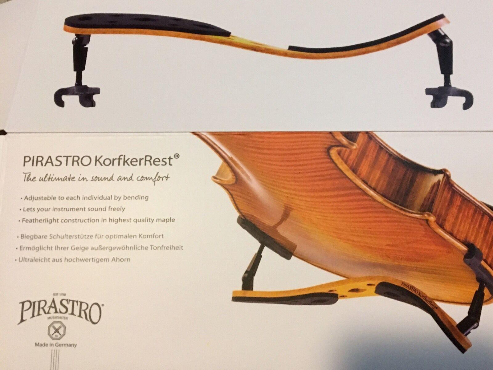 Pirastro KorfkerRest Korfker Violin Shoulder Rest Full Größe 4/4