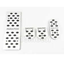 Mazdaspeed MT Foot Rest Pedal Set for Mazda 2 3 6 MX-3 MX-5 MX-6 RX-7 RX-8