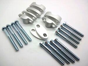 Multi-Stage-Handlebar-Risers-28-6-Fatbar-Bar-4x-Heights-Vegas-RP-AMB-20-Silver