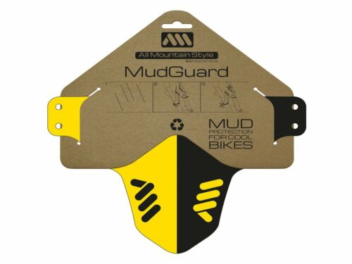 All Mountain Style AMS Mud Guard Yellow