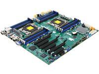 Supermicro Mbd-x10dri Extended Atx Server Motherboard Dual Lga 2011 R3 Intel C61 on sale