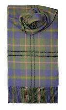Lochcarron de Escocia 100% Lambswool Taylor Antigua Tartan Bufanda Nuevo