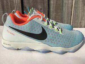 Men's Nike Zoom Hypercross TR2 N7 Silver Turquoise Volt Black Size 10 822785-043