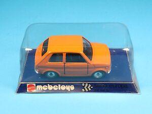 MATTEL-MEBETOYS-A62-A-62-III-3-SERIE-EUROPA-FIAT-126-ARANCIONE-NE-OH3-003