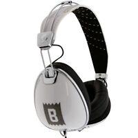 Bait X Skullcandy Roc Nation Aviator Headphones W Mic (white)