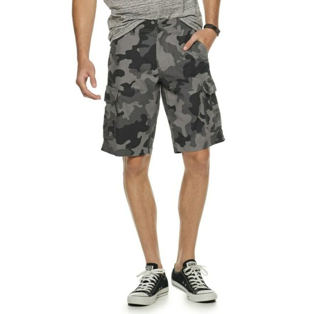 Size 29 Mens Urban Pipeline Jean Shorts Cargo Camouflage