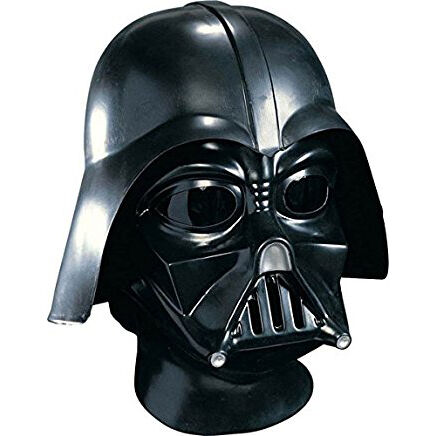 Black Star Wars Darth Vader Deluxe Adult Full Face Mask One SizeRUBIES 4191