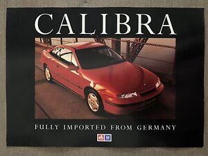 1991-Holden-Calibra-original-Australian-sales-brochure-9-91