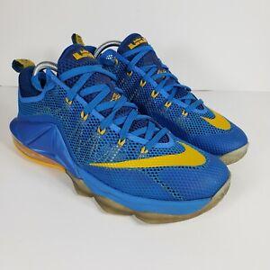 Nike LeBron 12 Low Entourage Photo Blue