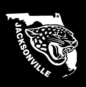 85413b05 Details about JACKSONVILLE JAGUARS STICKER THE STATE OF FLORIDA VINYL DECAL  VEHICLE GRAPHIC