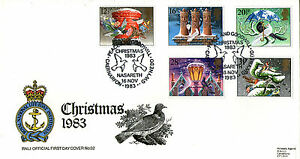 16 NOVEMBER 1983 CHRISTMAS RNLI No 32 FIRST DAY COVER NASARETH SHS - Weston Super Mare, Somerset, United Kingdom - If the item you received has in any way been wrongly described or we have made a mistake regardless of the nature we will pay your return postage costs. If however the error is yours you pay for the return pos - Weston Super Mare, Somerset, United Kingdom