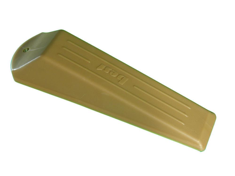 Puerta Cuña Mermelada stopers Goma más luz marrón - 100 unidades