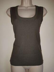JOULES-Adair-Knitted-Wool-Mix-Scoop-Neck-Vest-Tank-Top-Jumper-UK-12-EU-40-USA-8