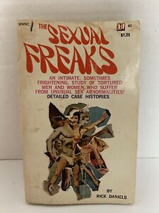 Old-Stock-Erotica-PULP-SLEAZE-1st-ed-paperback-1968-SEXUAL-FREAKS-Vtg-Sex