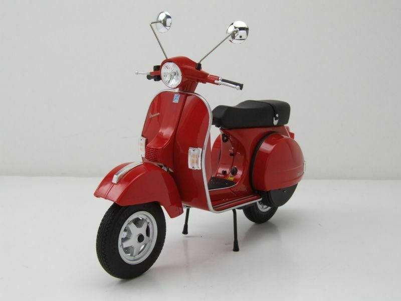 VESPA PX 125 Red, model motorcycle 1 10 Schuco