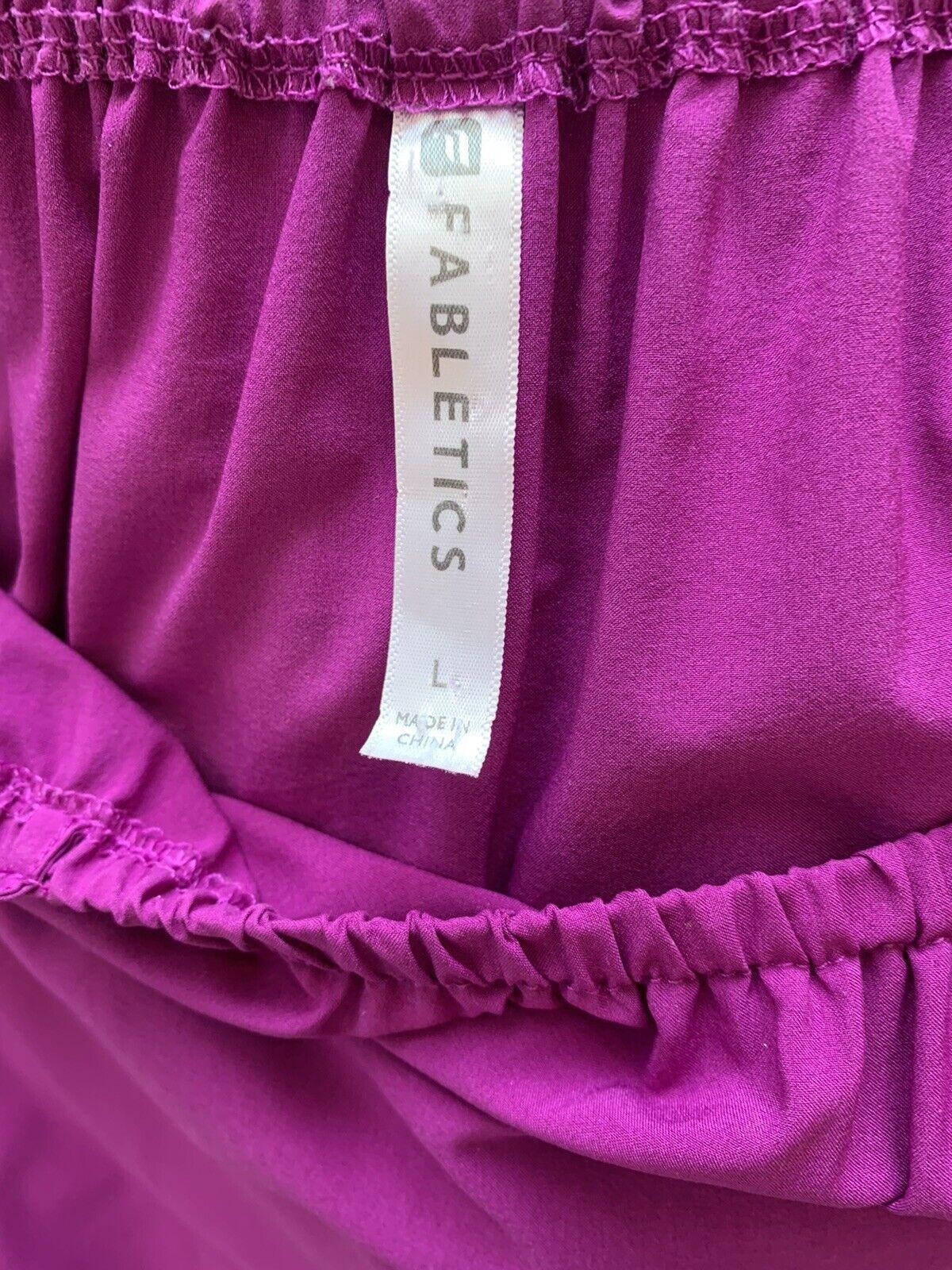 Fabletics Women's Prue Romper Fuchsia Off Shoulde… - image 5
