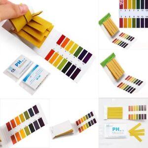160X-PH-Wert-Papier-Teststreifen-Indikatorpapier-Strips-Messung-Wassertest-FS
