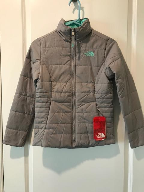 dc2b9b67b The North Face Girls Harway Insulated Jacket NWT Metallic Silver MSRP:  $80.00