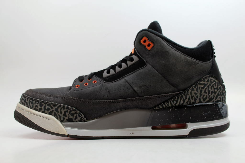 Nike Air Jordan III 3 Retro Night Stadium/Orange Fear Pack 626967-040 SZ 14