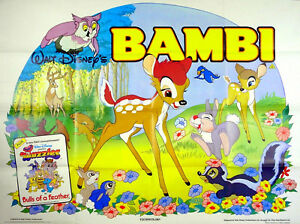 Bambi 1942 Walt Disney Bulls Of A Feather Wuzzles Uk Quad Poster Ebay