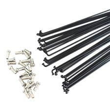 Replacement Bike Wheel Spoke Silver 294mm J-Bend Straight Gauge