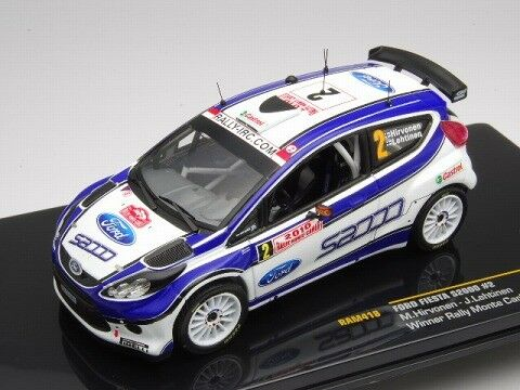 IXO 1 43 Ford Fiesta S2000 Rally Monte Carlo 2010 M.Hirvonen from Japan
