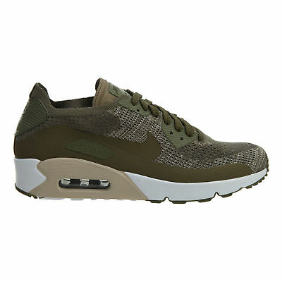 best sneakers 580bb c0f71 Nike Air Max 90 Ultra 2.0 Flyknit Mens 875943-200 Olive Running Shoes Size  9.5 884776892287 | eBay