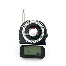 Bug Detector Anti-Spy RF Signal Hidden Bug Tracer Camera Lens GSM Device UK