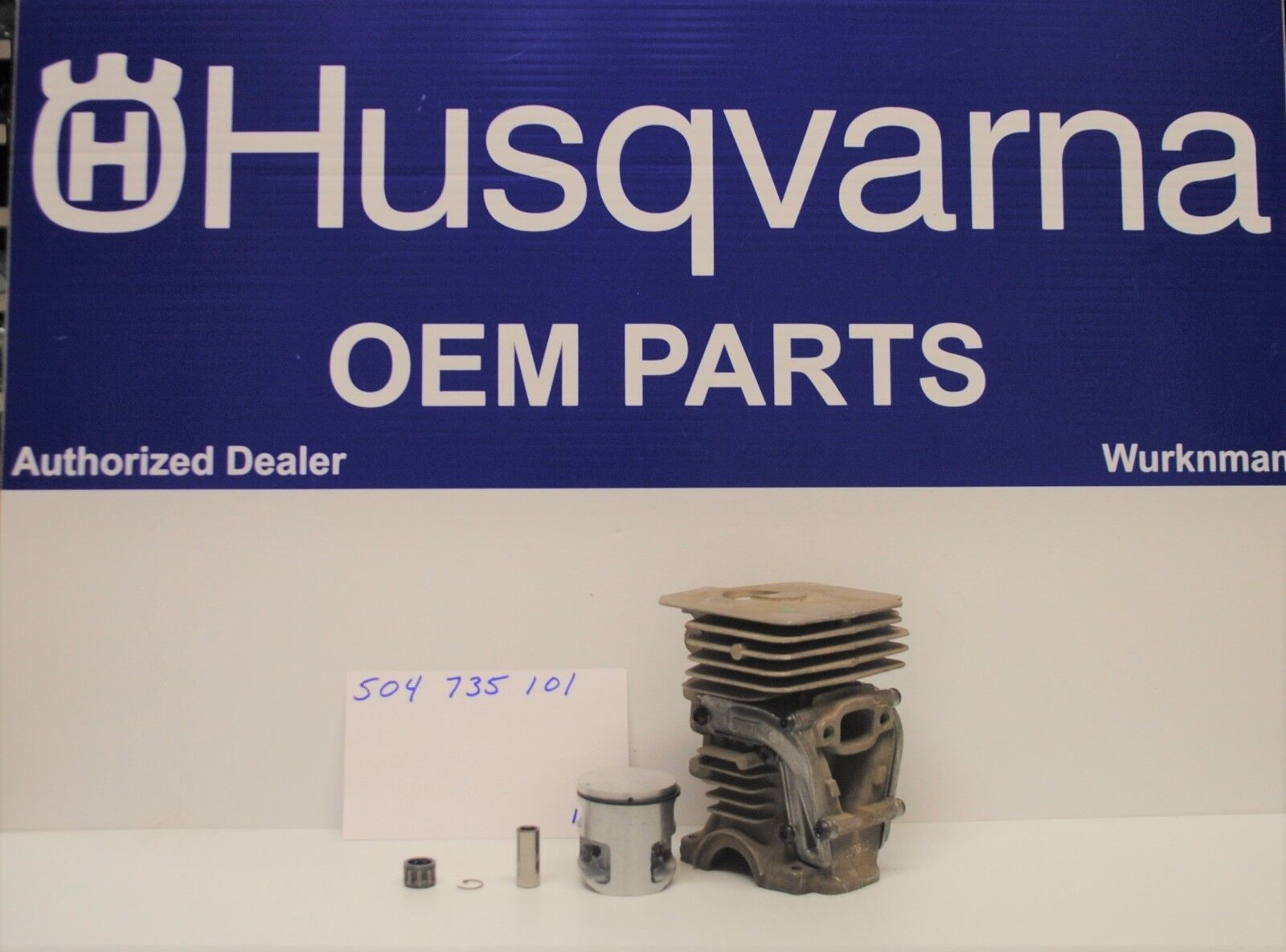 Genuine OEM 504735101 Husqvarna 435-435e-440e Cilindro Kit