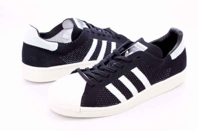 promo code f5a45 30fbb Adidas Superstar Primeknit Boost BB0191 Black   White Mens Size 7.5 NIB