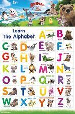 ANIMAL CLUB - ABC POSTER 22x34 - LEARNING ALPHABET 15170