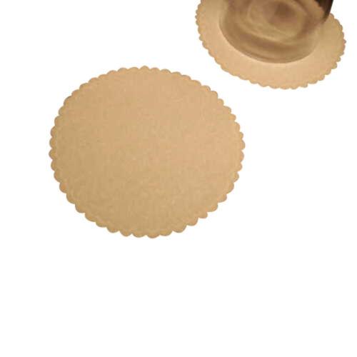 """50 Plain white soft velvet like coasters 3.5/"""" diameter"""