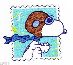 2 Snoopy Red Baron Stamp Peel Stick Wall Border Cut Out Character