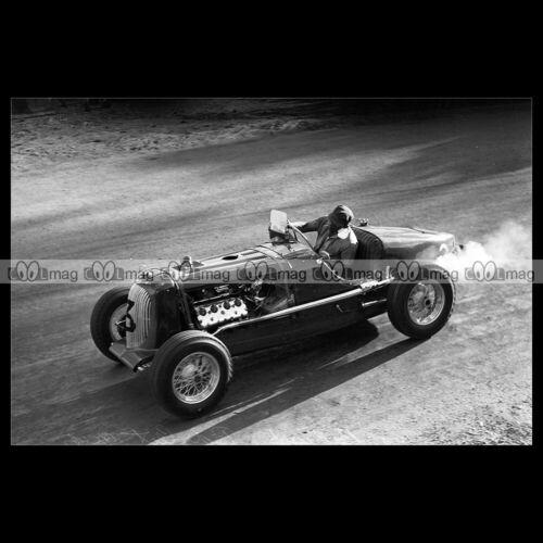 #pha.030971 Photo BUGATTI-FORD JACK MURRAY NSW GRAND PRIX BATHURST 1946