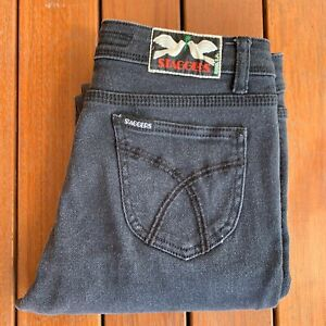 Staggers-Black-Jeans-Size-9-Straight-Skinny-Womens-Casual