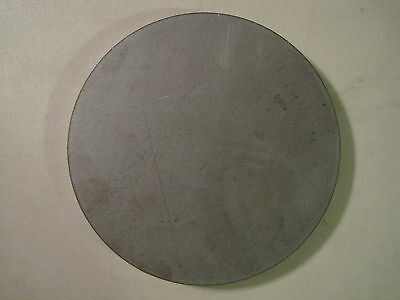 """Disc Shaped .500 A36 Steel 1//2/"""" Steel Plate 10/"""" Diameter Round Circle"""
