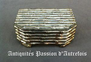 Franc B20151993 - Coffret, Boite à Bijoux En Régule Aspect Bambou - Tb état