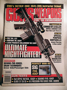 GUNS & WEAPONS FOR LAW ENFORCEMENT MAGAZINE~ MAY 1999 ~ COLT M4 .223 RIFLE