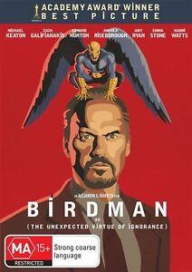 Birdman-DVD-2015-very-good-condition-t1