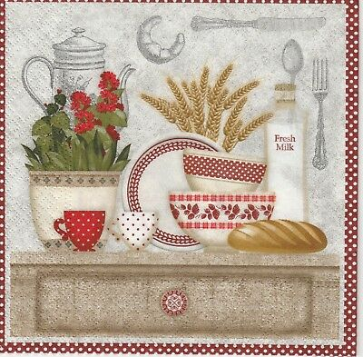 4x Paper Napkins for Decoupage Decopatch Craft In Heaven