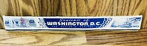 Washington DC The National Capital Match Book 16'' Long Souvenir Vintage Rare RD