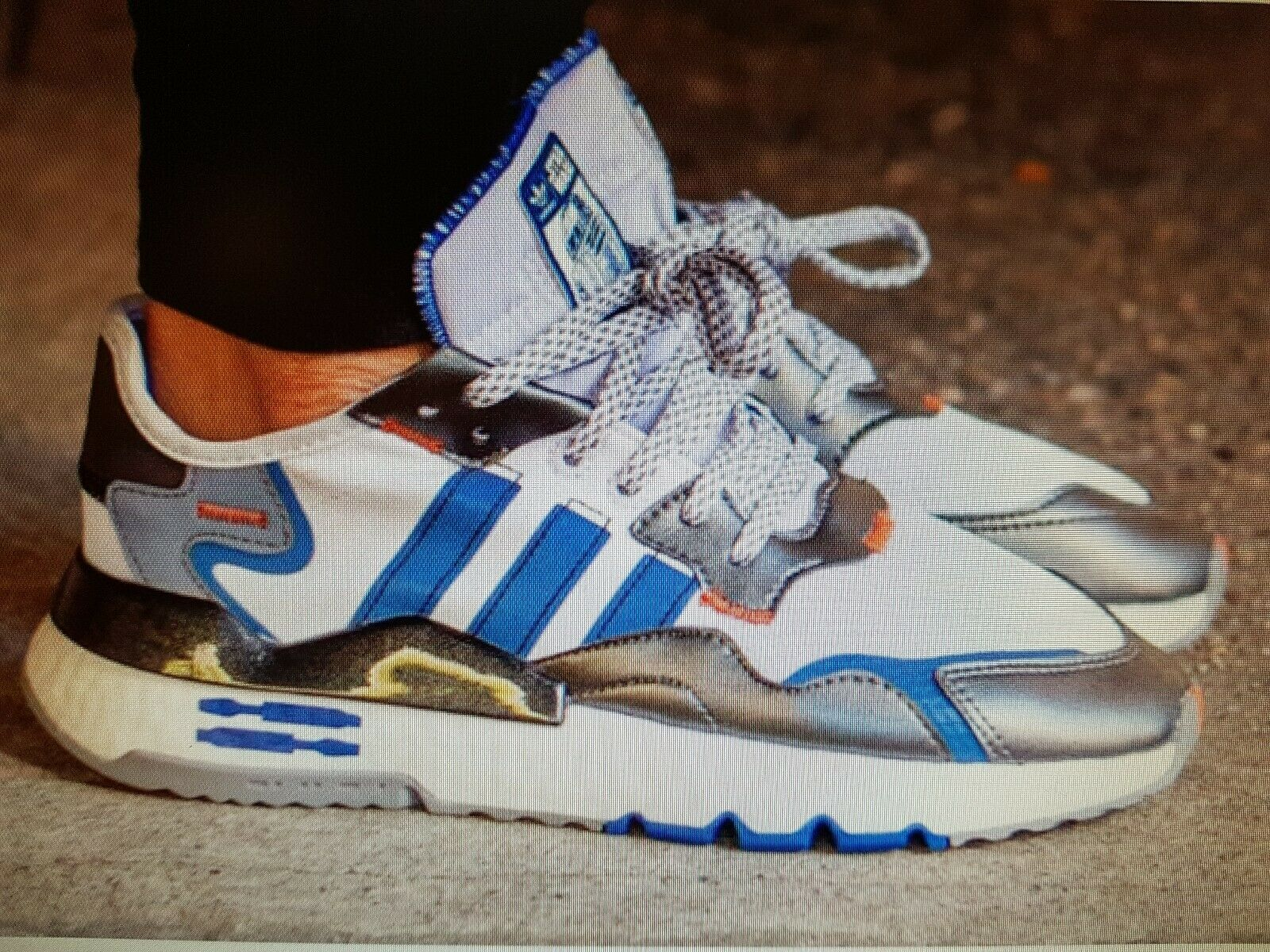 Adidas nite jogger star wars Schuh Gr. 44 NEU