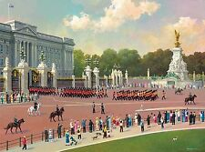 3D Lenticular picture London Buckingham Palace Trooping The Colour 39x29cm