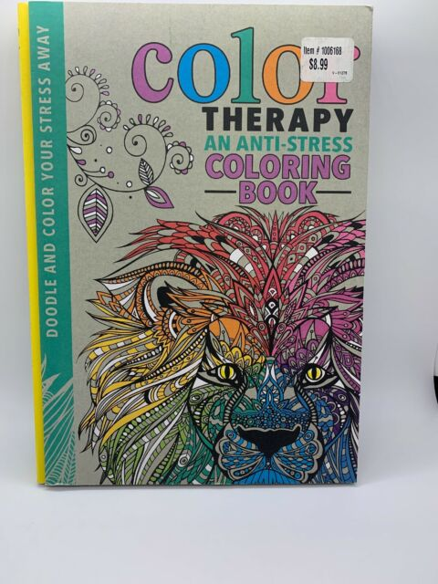 Color Therapy : An Anti-Stress Coloring Book By Richard Merritt, Cindy  Wilde And EBay