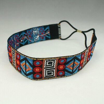 Hippie Headband Headwrap Elastic Stretch Hair Accessories Bohemian Indian HB2284