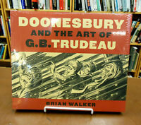 Doonesbury & The Art Of G.b. Trudeau Comic Book Unpublished Drawings & More [wal