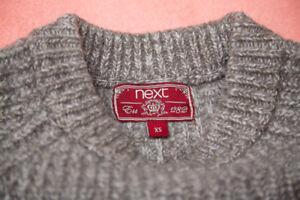 Successivo a coste larga maglia taglia a Xs maglia rtw7rxgSnq