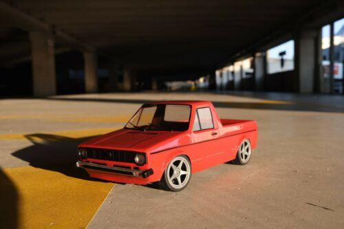 HPI Yokomo to fit Tamiya MST LRP RC Drift Karo VW Caddy MK1 1//10 scale body