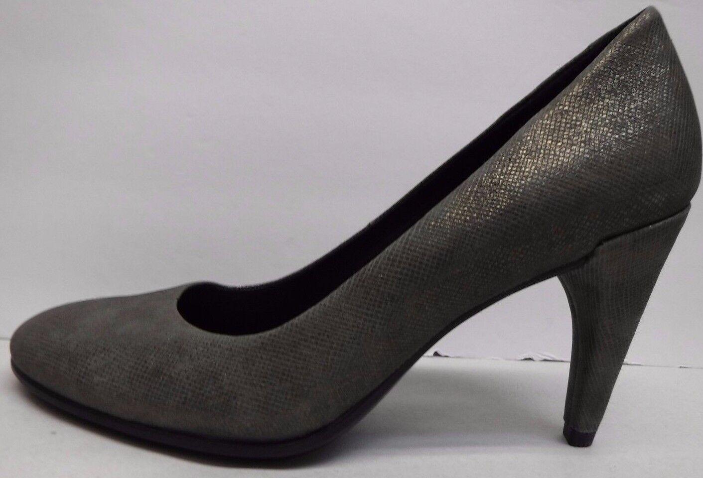 Ecco  EUR 36  Ecco  5 5.5 Gray Pelle Pumps Heels New Donna Shoes afc35a