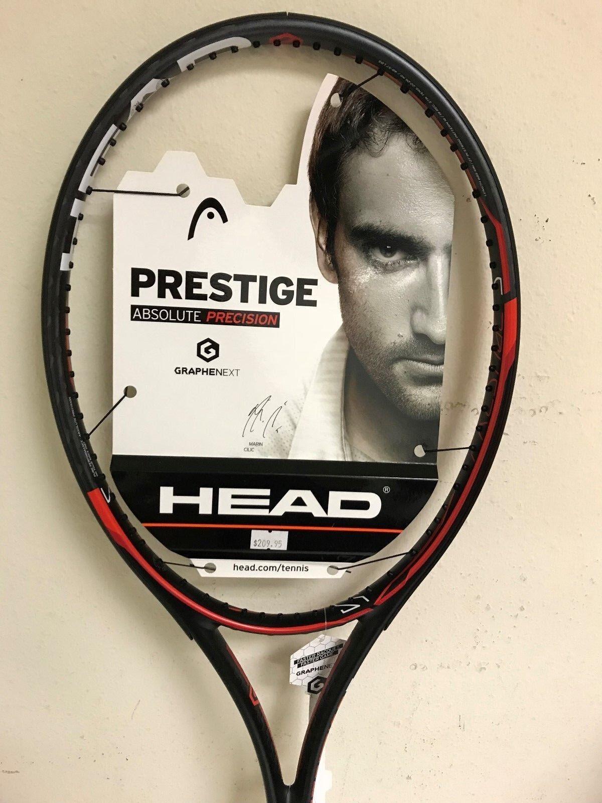 Head Graphene XT Prestige S Tennis Racquet Grip Size 4 1/4